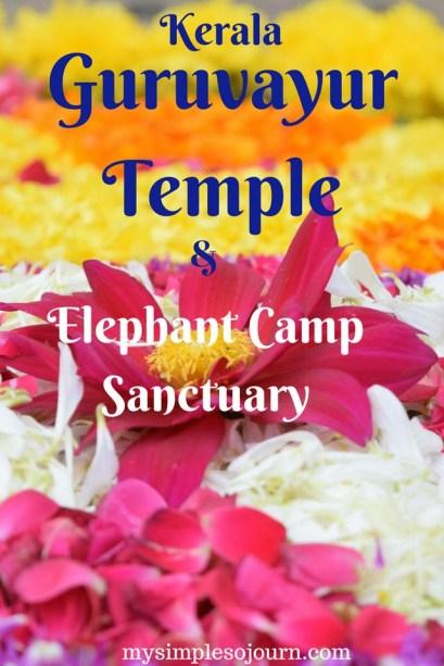 Cochin to Guruvayur and The Guruvayur Sri Krishna Temple