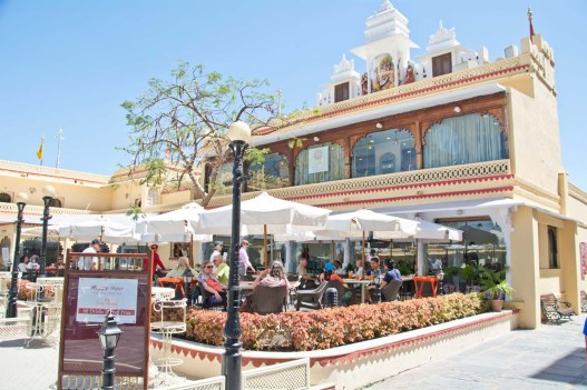 Cafe in City palace Udaipur