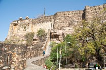 Chittorgarh fort walls