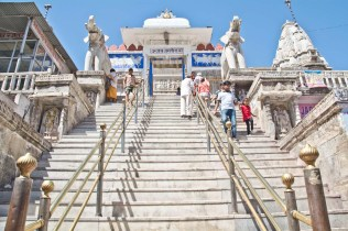 Jagdish temple stairs