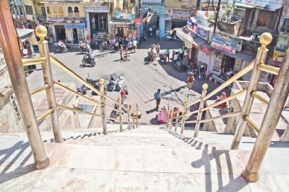 Market area from Jagdish temple Udaipur