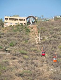 Gondola Ropeway at karni Mata Temple Udaipur