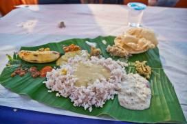 onam sadhya feast food