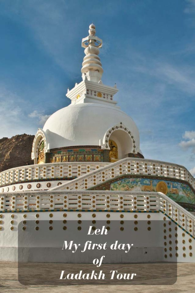 Ist day in Leh