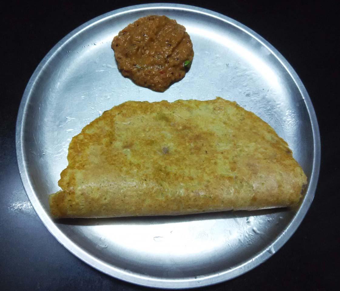 Adai Dosa from Kerala