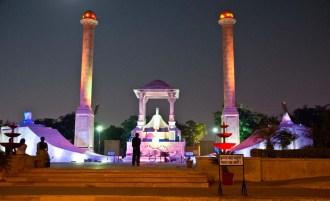 Jaipur by night Amar Jawan Jyoti