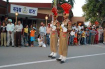 BSF Guards wagah border