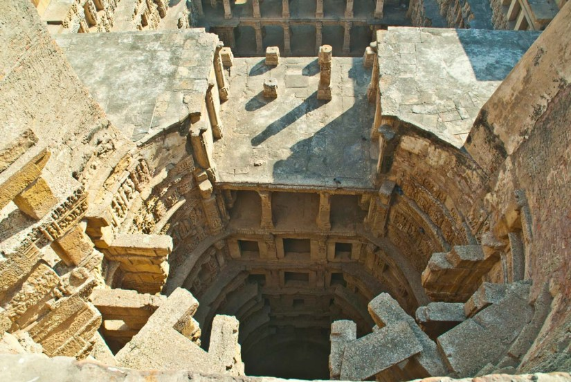 Rani ki Vav from wall's top