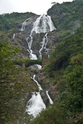 dudhsagar waterfall goa 4