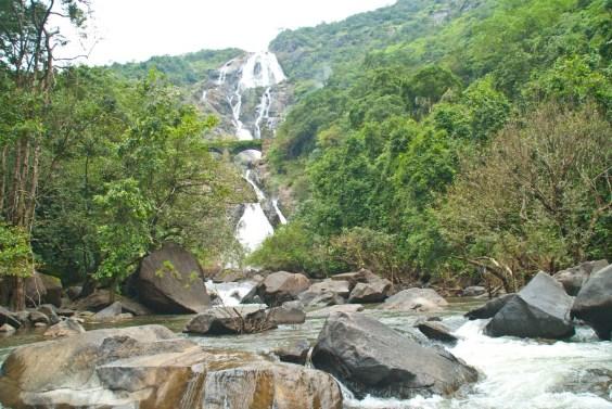 dudhsagar waterfall goa 8