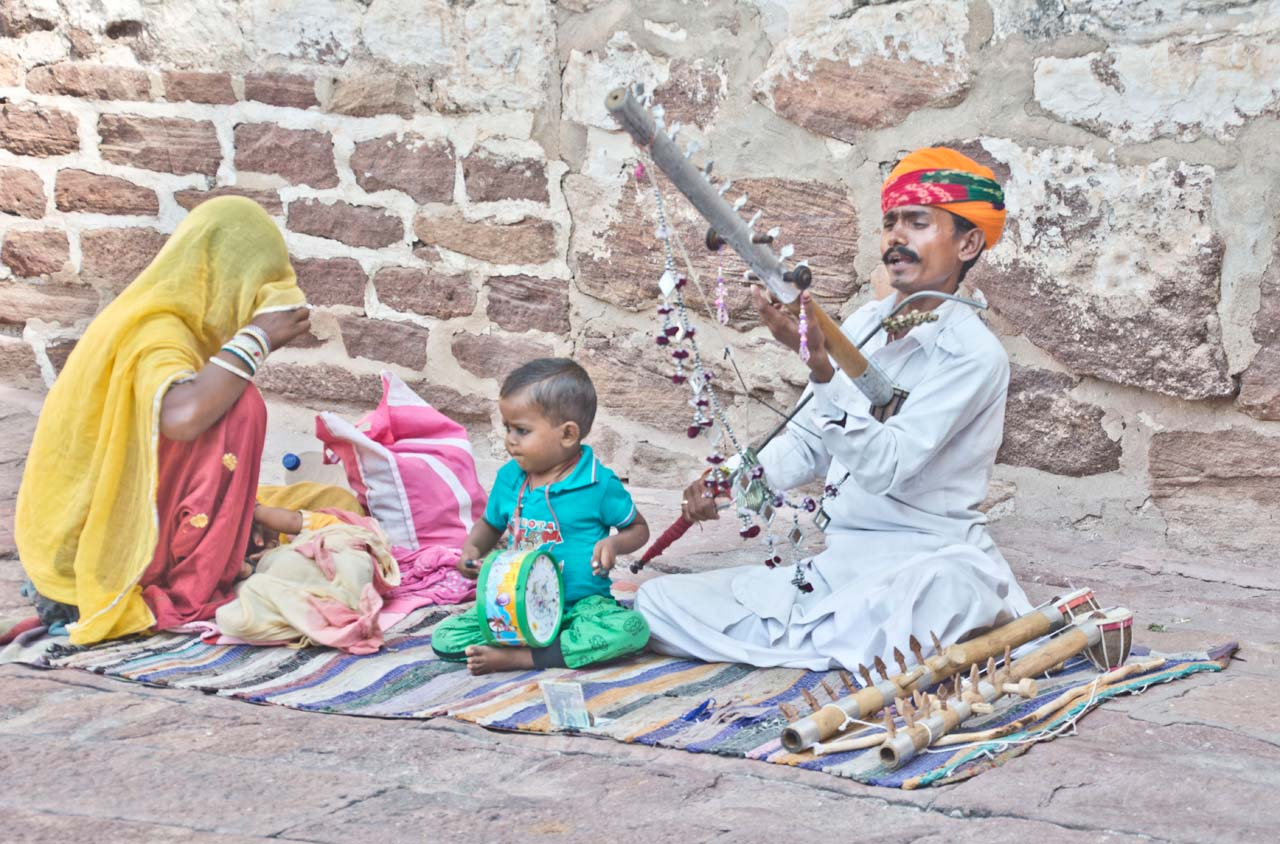 Music in Mehrangarh Fort – Jodhpur