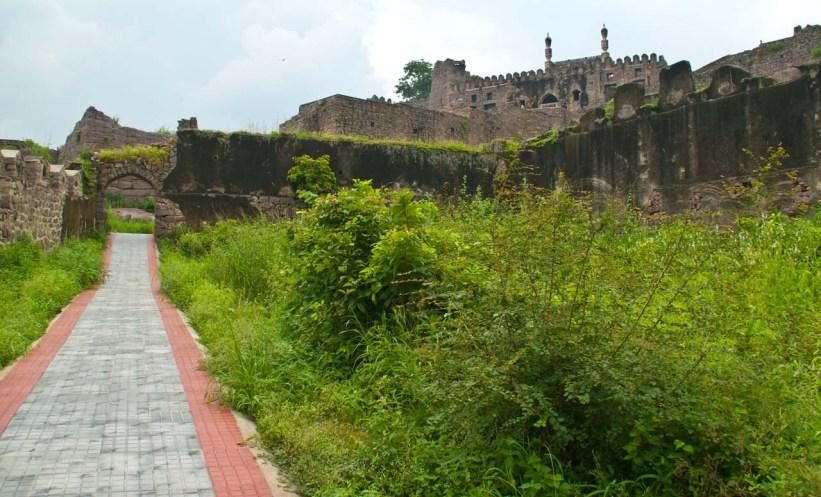 24 golconda fort Hyderabad