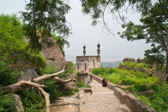 34 golconda fort Hyderabad