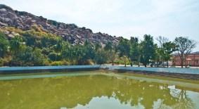 Pampa sarovar Hampi village