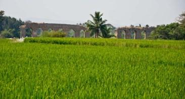 Landscape hampi village