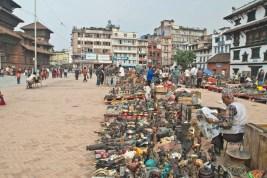 Market outside Durbar sequare Kathmandu