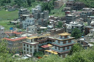 Swambhu view 1