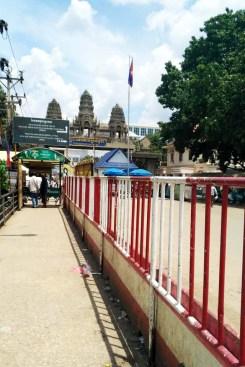 Way to Cambodia visa office