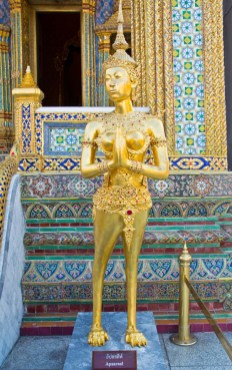 Apsara statue in Royal palace compound
