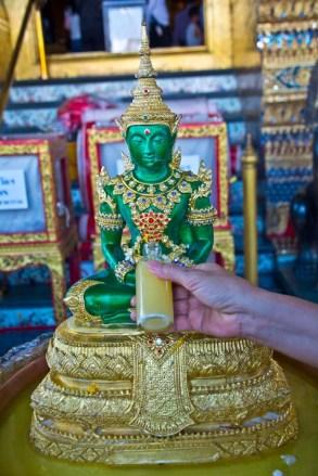 Buddha in palace compound