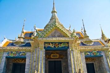 Building in Royal palace compound of Bangkok