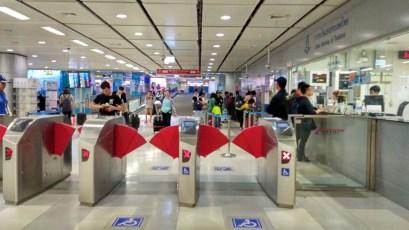 airport link metro Bangkok