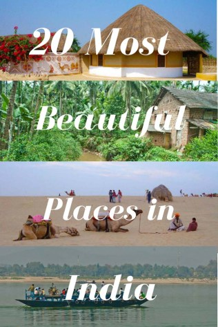 20 Most Beautiful Places in India