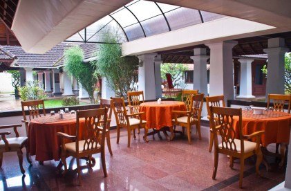 Bolgatty Palace and Island Resort Dining area