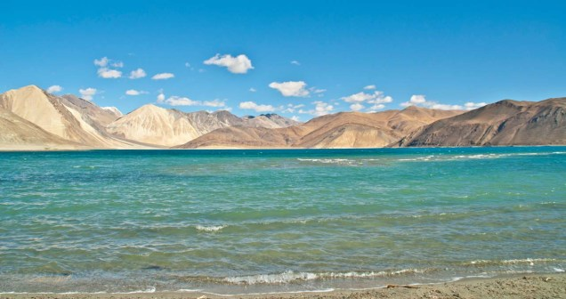 Pangong Lake Most Beautiful Places in India