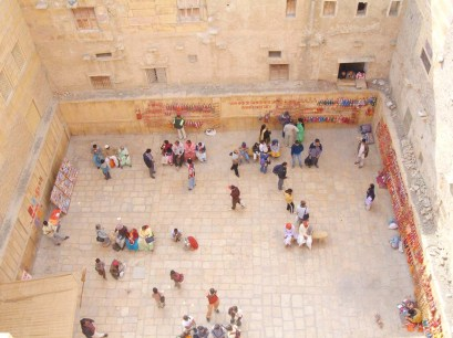 Open space in front Patwon ki Haveli - Jaisalmer's places to visit