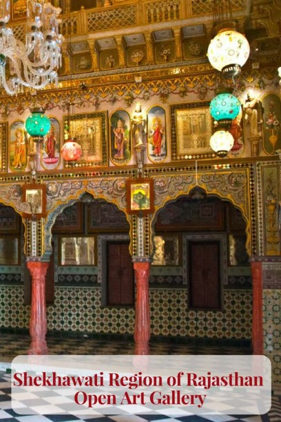 Shekhawati Region of Rajasthan - Open Art Gallery