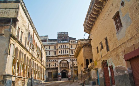 Shekhawati region of Rajasthan - Churu haveli old