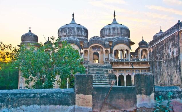 Ramgarh Rajasthan Temple and Sarai