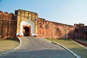 Gate of Jaigarh fort jaipur