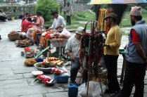 Bindhyabasini temple Market