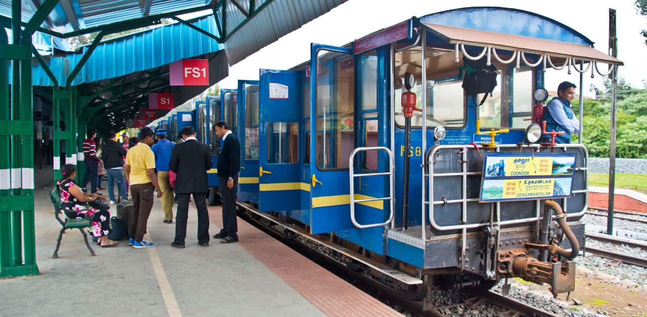 Nilgiri mountain railway A UNESCO heritage site