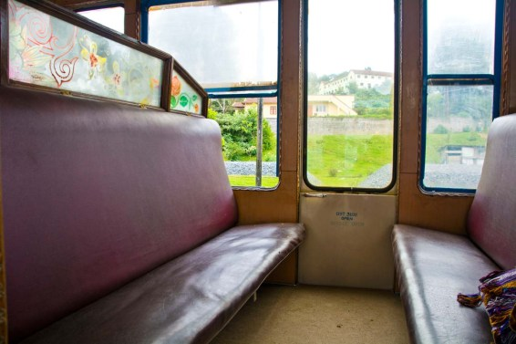 Nilgiri mountain railway FC seats