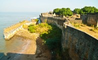 Outer wall of Diu Fort