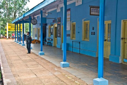Wellington station on the way from Ooty to Metupalaiyam