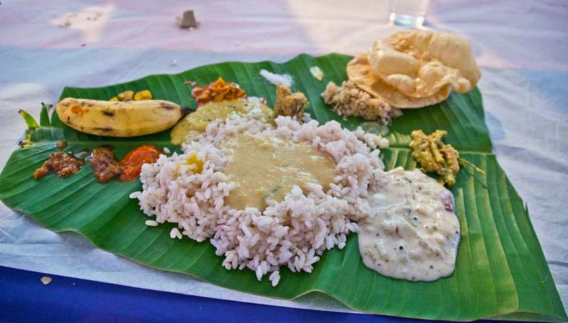 Onam Sadhya Festivals of India