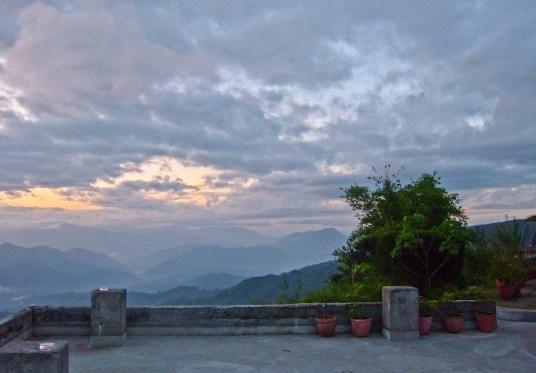 Nagarkot Nepal sunrise