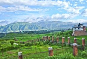 Nagarkot in Nepal in Kathmandu Valley