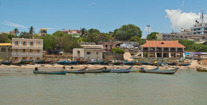 Boats at Kanyakumari