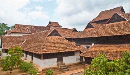Padmanabhapuram Palace tiled roof