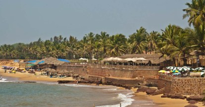 View from Fort Aguada Goa
