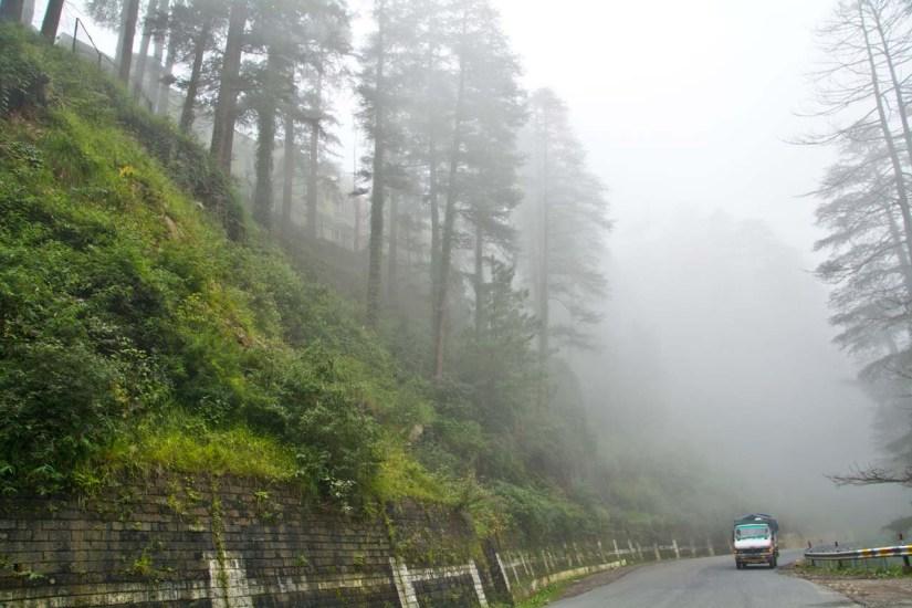 From Shimla to Kufri
