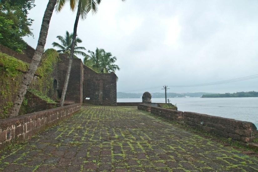 Reis Magos Fort Goa outer area