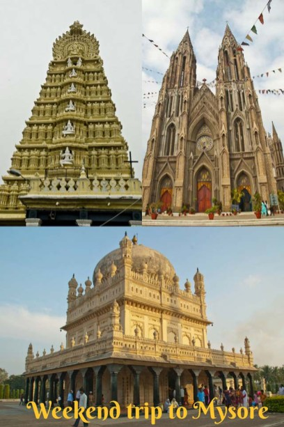 Weekend trip to Mysore from Bangalore