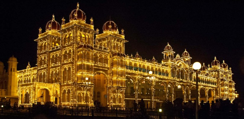 Mysore Palace Illuminated