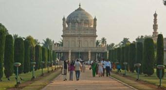 Tipu sultan grave Srirangapatna